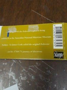 Australia $2 Endeavour Booklet