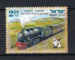 Israel 2011 Trains Locomotives / Railroads MNH stamp