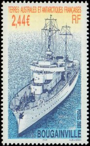 French Southern & Antarctic Territory #322, Complete Set, 2003, Ships, Polar,...