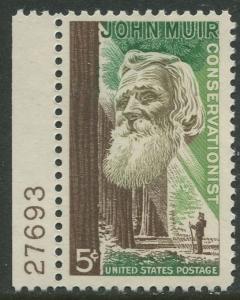 STAMP STATION PERTH USA #1245  MLH OG 1964  CV$0.25.