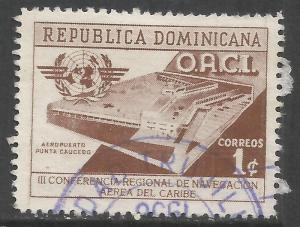 DOMINICAN REPUBLIC 469 VFU Z4963-2