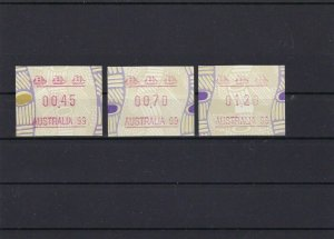 AUSTRALIA FRAMA ATM AUTOMATIC MACHINE  STAMPS   R3437