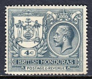 British Honduras - Scott #90 - MH - Toning - SCV $11