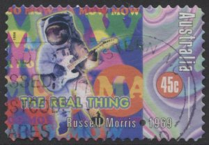 STAMP STATION PERTH Australia #1668 Rock and Roll Definitive Used