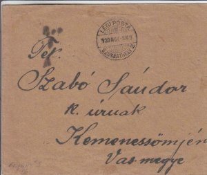 1920, 1st Flt., AAMC-5, Szombathely to Budapest, Hungary (24270)