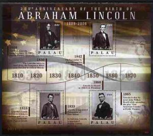 Palau 2010 200th Birth Anniversary of Abraham Lincoln per...