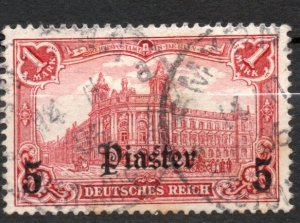 Germany Offices Turkey 1905 #39 VF *USED*