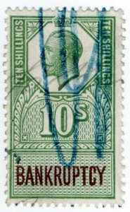 (I.B) George V Revenue : Bankruptcy 10/-