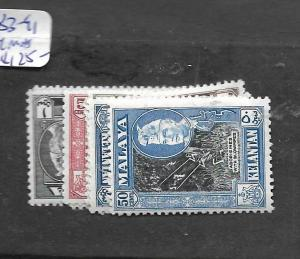 MALAYA KELANTAN (P1601B) SG 83-91   MNH