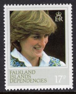Falkland Islands Dependencies 1L73 MNH VF