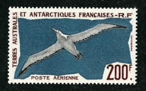 FSAT Antarctic Wandering Albatross issue (Scott C3) VF MNH Cat $40...Premier!