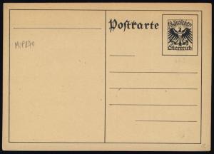 AUTRICHE / AUSTRIA 1925 MiP270 CARTE POSTALE 18Gr POSTAL CARD - neuve / mint