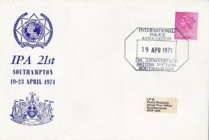 GBP111) GB 1971, Commemoration of 21st Anniversary of the International Poli