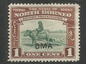 NORTH BORNEO, 208, HR, BUFFALO