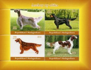Madagascar MNH S/S Show Pointer Dogs 2018
