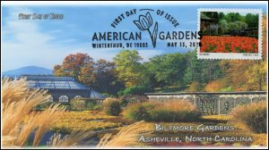20-130, 2020, American Gardens, Pictorial Postmark, First Day Cover, Biltmore Ga