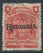 British South Africa Company / Rhodesia  SG 101 Used OPT  Rhodesia see scan