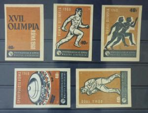 Match Box Labels ! sport olympic games roma 1960 stadium race ball box GN52