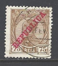 Cape Verde Sc # 106 used (RS)