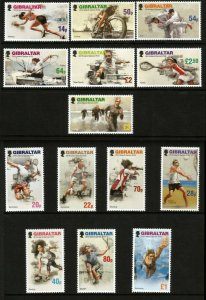 Gibraltar 2019 Island Games XVIII 14v Set Of Stamps MNH