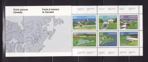 Canada 992a Complete Booklet Set MNH Views