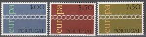 Portugal #1094-6  F-VF Unused CV $9.75 (C5299)