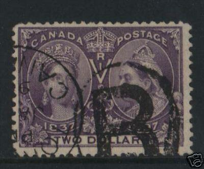 Canada #62 Used With Nice Cancel