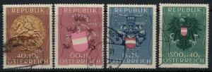 Austria #B264-7  CV $37.50