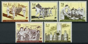 Singapore Military & War Stamps 2020 MNH End of WWII WW2 75th Anniv 5v Set