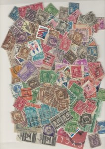 COLLECTION LOT # L7 UNITED STATES 228gr ABOUT 3400 STAMPS FREE H & S