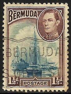Bermuda 1943 Scott# 119a Used