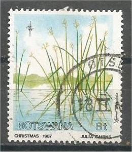 BOTSWANA, 1987, used 8t, Wetland, Scott 424