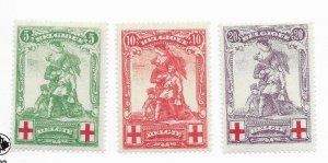 Belgium #B28-B30 Counterfeits Exist - MH - Stamp CAT VALUE $87.00