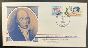 US #2278,1576 On Cover - Bicentennial of Constitution 1787-1987 [BIC75]