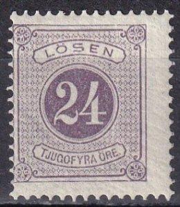 Sweden #J18 F-VF  Unused  CV $26.00  (Z6335)