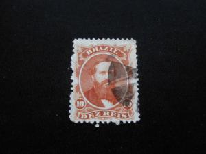 Brazil #53 Used- (X9) I Combine Shipping 4