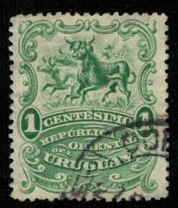 1900, Uruguay, Local Motives, 1 centesimo, YT #152 (T-7426)