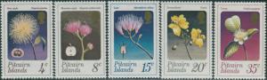 Pitcairn Islands 1973 SG126-130 Flowers set MNH