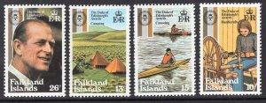 FALKLAND ISLANDS SCOTT 327-330