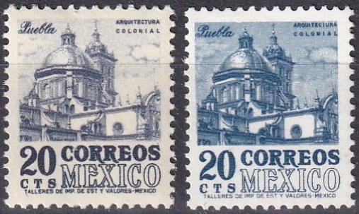 Mexico #878, 878a  MNH CV $4.10 (A19797)