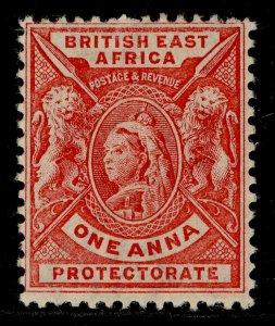 BRITISH EAST AFRICA QV SG66, 1a carmine-rose, M MINT. Cat £18.