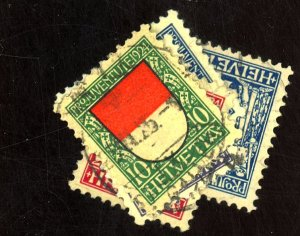 SWITZERLAND #B28-32 USED FVF Cat $52