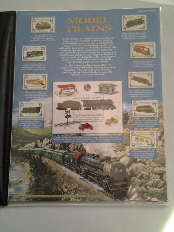 Sierra Leone - Model Trains - (1652) / HipStamp