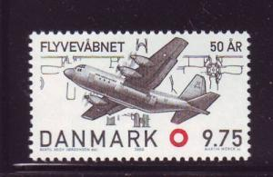 Denmark Sc 1192 2000 Air Force stamp mint NH