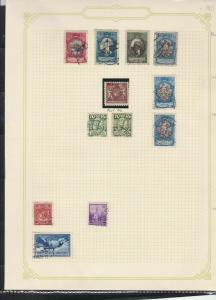 liechtenstein  stamps page ref 17944