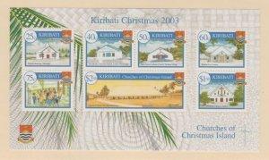 Kiribati Scott #841a Stamp - Mint NH Souvenir Sheet
