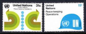UN New York 320-321 MNH VF