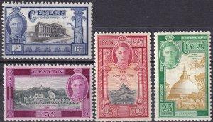 Ceylon #296-9 MNH   (Z9614)