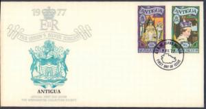 Worldwide First Day Cover, Royalty, Antigua