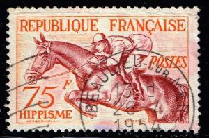 FRANCE STAMP  1953 Sports USED STAMP